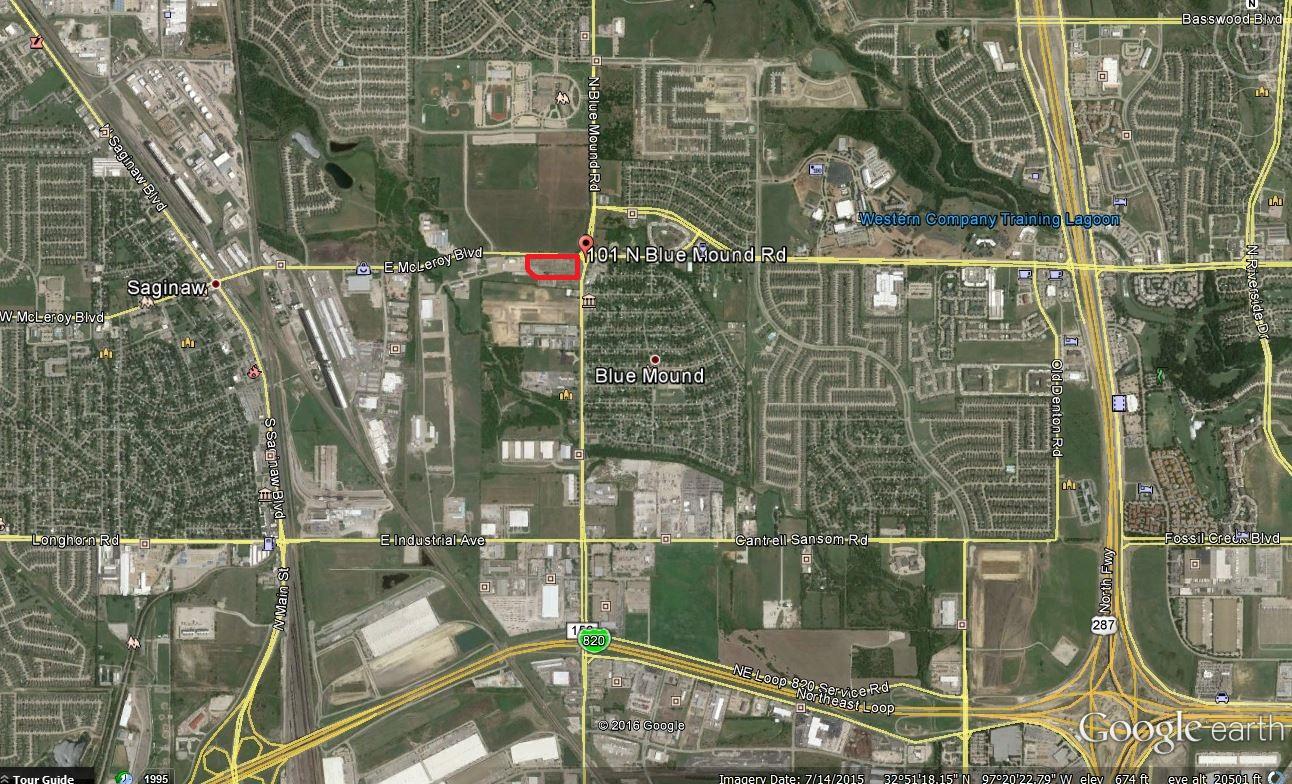 Aerial - 6.67 Acres Saginaw